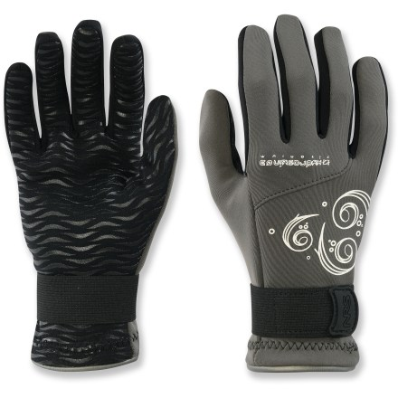 Kayak and Canoe The women's NRS HydroSkin paddling gloves keep the heat where you need-in your fingers-for a fun day on the water. - $19.83