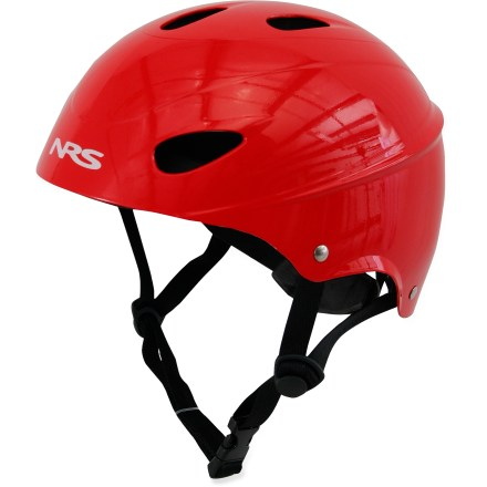 Kayak and Canoe Multiple paddlers looking for a safe fit? The NRS Havoc Livery Whitewater helmet adjusts its size to fit nearly any paddler. - $39.95