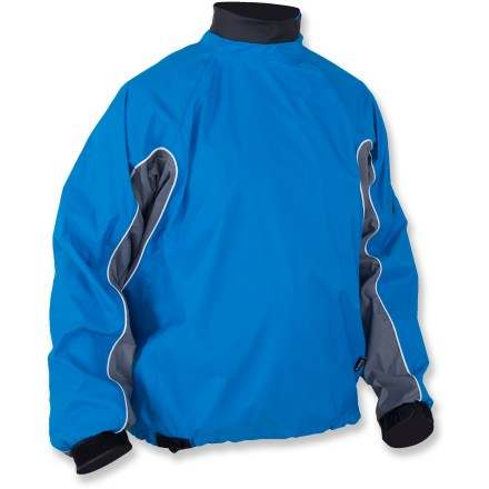 Kayak and Canoe Stay dry and warm on your next kayaking trip in the waterproof, breathable NRS Endurance paddling jacket. - $49.83