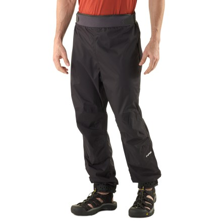 Kayak and Canoe Stay dry and warm on your next kayaking trip in the waterproof, breathable NRS Endurance paddling pants. - $49.83