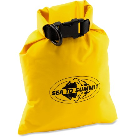 Kayak and Canoe The Sea to Summit Lightweight dry sack keeps gear dry and functional whether you're backpacking, kayaking, stand up paddling, hiking, or just hanging out in the wilderness. - $12.95