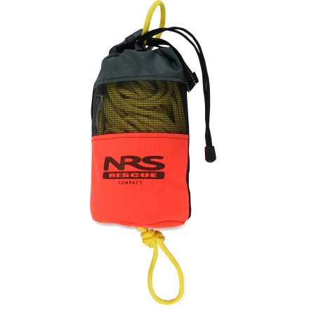 "Kayak and Canoe Made of highly visible and durable Cordura nylon, this throw bag is filled with 70 feet of floating 1/4"" polypropylene rope. - $54.95"