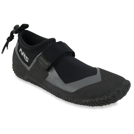 Kayak and Canoe The NRS Kicker Remix Wetshoe water shoes help keep your feet warm and protected so you can enjoy your time on the water. - $19.83
