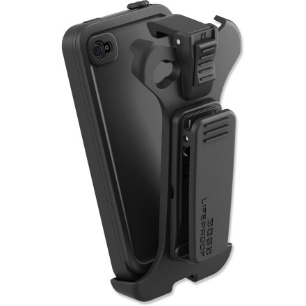 Entertainment This Lifeproof belt clip works with the LifeProof iPhone 4/4S case (sold separately) to keep your iPhone at the ready for quick access. - $11.83