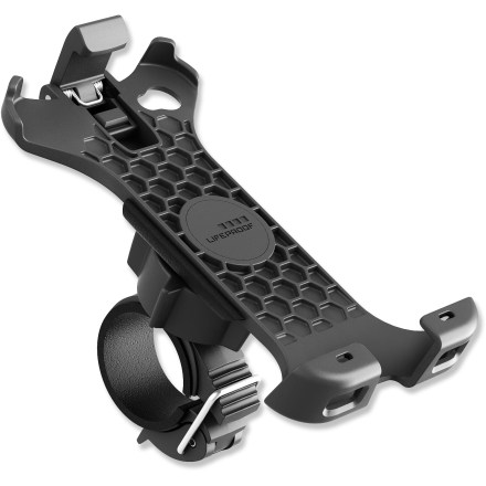 Entertainment This LifeProof Bike and Bar mount works with the LifeProof iPhone(R) 4/4S case (sold separately) to let you keep  your iPhone front and center on your next 2-wheeled adventure in any weather. - $23.83