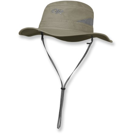The Outdoor Research Sentinel Brim hat fends off insects and shades you from harmful solar rays. - $48.00