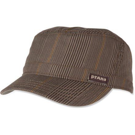 Complete your casual look with the prAna Luke cadet hat. Made of a comfortable blend of polyester and viscose. - $32.00