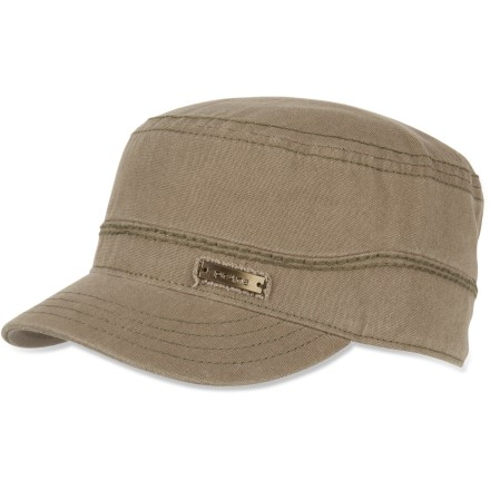 The prAna Marr cadet hat will feel like an old favorite from the moment you put it on. Organic cotton construction has frayed edges and a lightly distressed look. - $20.93