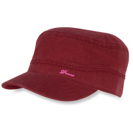 Add a dash of color to your summer wardrobe with the prAna Martha cadet hat. Organic cotton canvas is soft to the touch. - $18.83