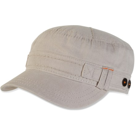 Finish off your new summer look with the stylish prAna Jackie Organic cadet hat. - $8.83