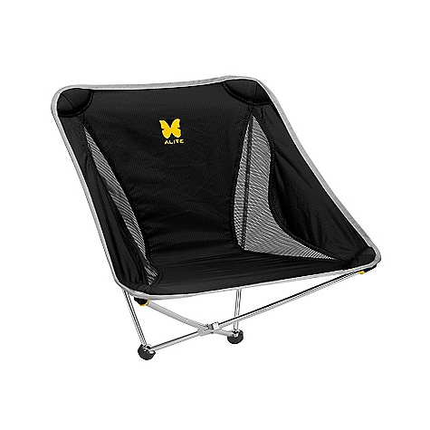 Camp and Hike Free Shipping. Alite Monarch Chair DECENT FEATURES of the Alite Monarch Chair Fast, color-coded assembly Awesomely strong, holds up to 250 lbs Proprietary design Durable, breathable fabric cradles your body Perfect for rocking back and forth Ideal even on a hillside Weight: 21 oz. - $69.95