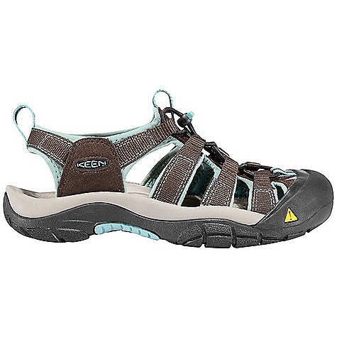 Surf On Sale. Free Shipping. Keen Women's Newport H2 Sandal FEATURES of the Keen Women's Newport H2 Sandal Washable polyester webbing upper Secure fit lace capture system Aegis microbe shield hydrophobic lining and foot bed Metatomical EVA molded footbed Compression molded EVA midsole Multi-directional lug pattern with razor siping Non-marking rubber outsole - $67.99
