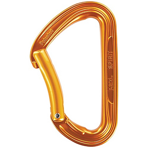 Climbing Petzl Spirit Straight Gate Carabiner FEATURES of the Petzl Spirit Straight Gate Carabiner Ideal for sport climbing H-shape reduces weight Straight gate facilitates clipping and unclipping the anchor Equipped with the Keylock system and a special nose shape - $9.95