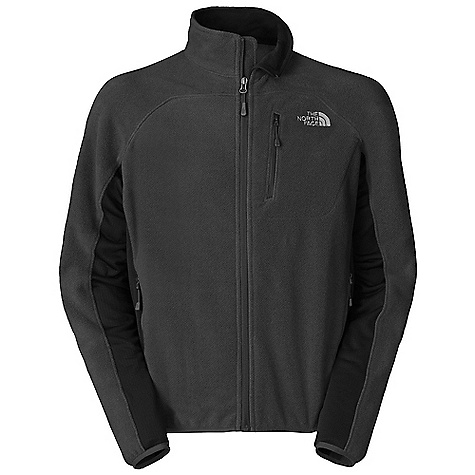 Free Shipping. The North Face Men's Vicente Jacket DECENT FEATURES of The North Face Men's Vicente Jacket Polartec Classic 100 on body and sleeves Polartec Power Dry on side panels Reverse-coil zips Two secure hand pockets Napoleon zip pocket Elastic-bound cuffs and hem The SPECS Average Weight: 14 oz / 390 g Center Back Length: 28in. Body: 197 g/m2 (6.949 oz/yd2) 100% polyester Polartec shatter fleece Panels: 90D 246 g/m2 (8.68 oz/yd2) 90% polyester, 10% elastane four-way stretch TNF Apex Aerobic soft shell with DWR This product can only be shipped within the United States. Please don't hate us. - $129.95