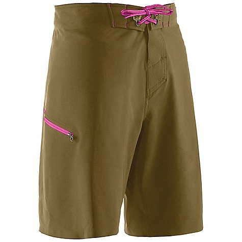 Surf Free Shipping. Under Armour Men's Grovepoint Boardshort DECENT FEATURES of the Under Armour Men's Grovepoint Boardshort 4-way stretch for increased mobility No Inseam to prevent chafing Quick dry fabric Welded Construction Armour block anti-odor technology Secure cargo pocket UPF UA Storm DWR finish Compression short to boardshort interface The SPECS 6.49 oz, 91% Polyester/9% Elastane - $79.95