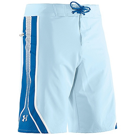 Surf Free Shipping. Under Armour Men's Munnaruck Boardshort DECENT FEATURES of the Under Armour Men's Munnaruck Boardshort 4-way stretch for increased mobility Quick dry fabric Armour block anti-odor technology Sublimated Print Back Pocket UPF UA Storm DWR finish Compression short to boardshort interface The SPECS 6.49 oz, 91% Polyester/9% Elastane - $59.95