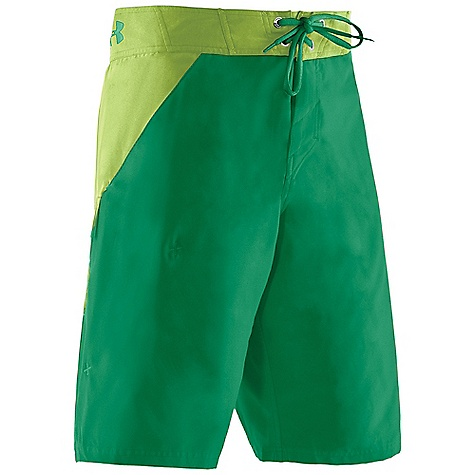 Surf Free Shipping. Under Armour Men's Takahimi Boardshort DECENT FEATURES of the Under Armour Men's Takahimi Boardshort Quick dry fabric Armour block antiodor technology Adjustable waist Secure cargo pocket UPF UA Storm DWR finish Compression short to boardshort interface The SPECS 3.72 oz, 100% Polyester - $49.95
