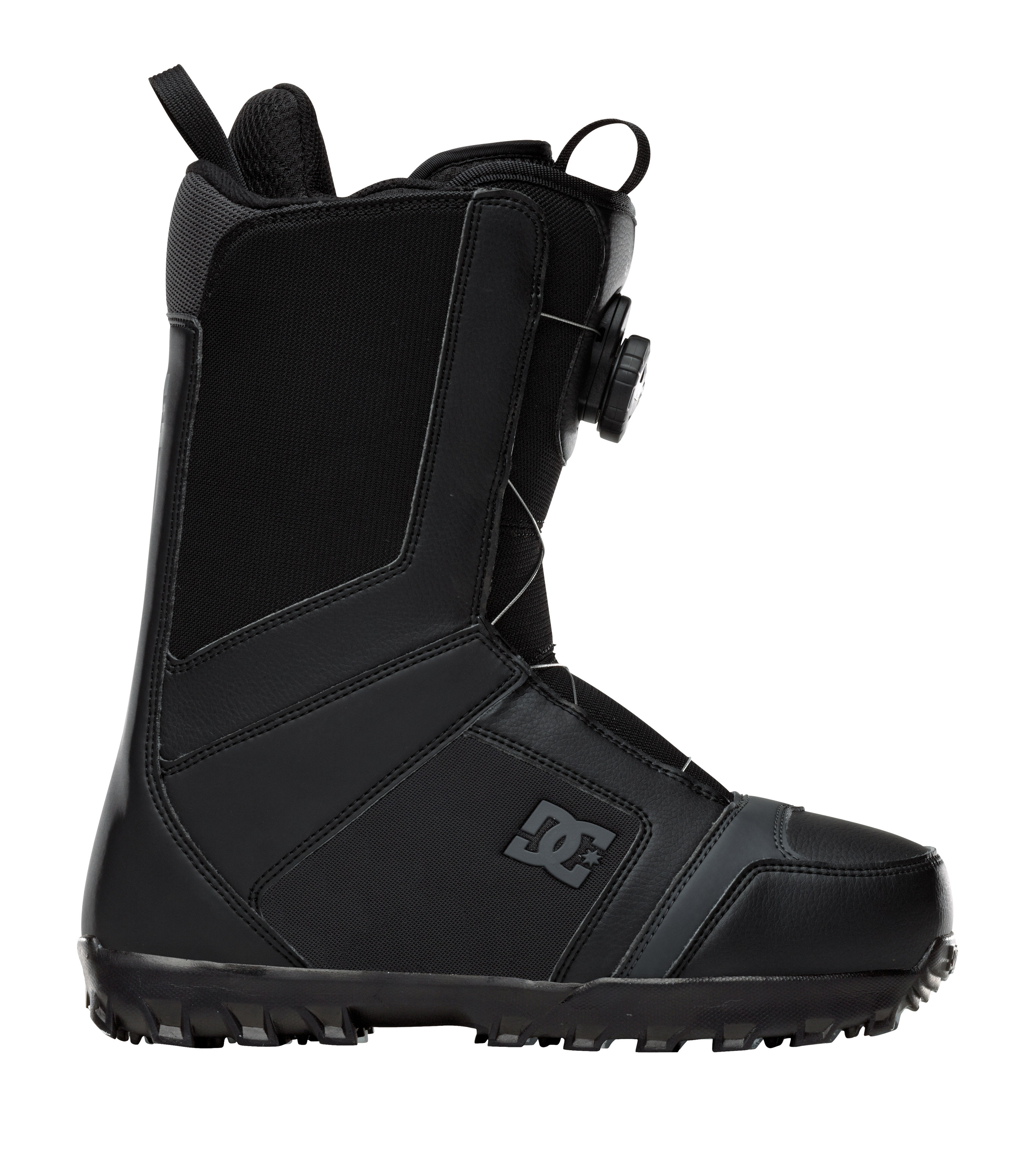 Snowboard The Scout has established itself as a staple in the DC line because it doesn't sacrifice comfort, style or performance. The BOA closure system gives you the power to dial in the fit you want. DC added a new low profile UNILITE outsole this year to make this rider's favorite better than ever.Key Features of the DC Scout BOA Snowboard Boots: BOA lacing system UNILITE Command Liner Flex Rating: 5 - $118.95