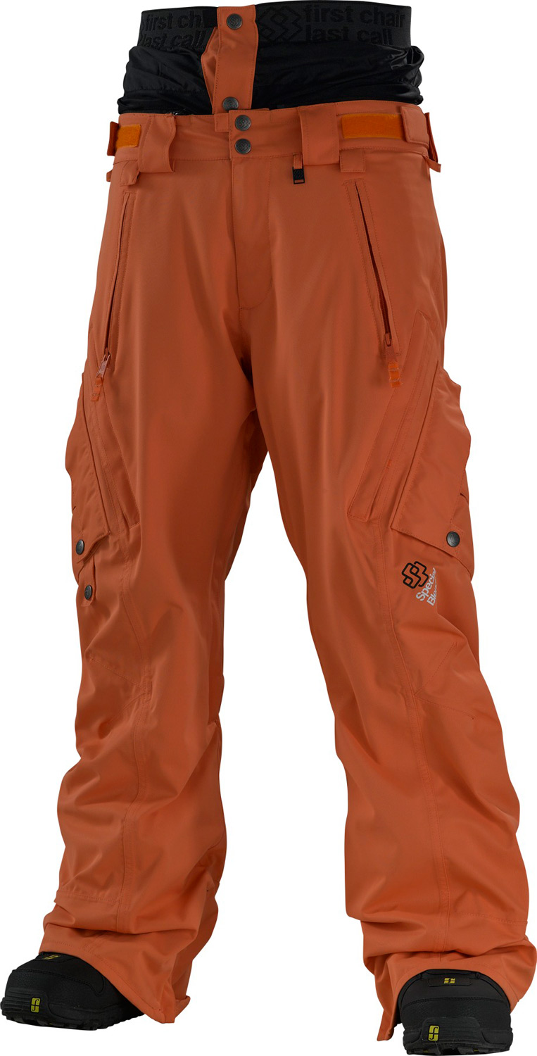 Snowboard Special Blend Annex snowboard pants are made for riders who like to show off their casual side. A baggy fit offers plenty of freedom while accentuating the style of your shred. With taped steams, a waterproof Oxford weave shell and a nylon closed-cell mesh lining plus vents on the hips and inseam these pants will keep you warm and dry while making it simple to cool down after those extreme rides. These Special Blend brand pants are durable and loaded with features to make your days on the mountain enjoyable.Key Features of the Special Blend Annex Snowboard Pants: 15,000mm Waterproof 10,000g Breathability Principal Group Shell Pant Freedom Fit Oxford Weave Fully Taped Seams Sagproof Gaiter Multi Utility Pockets Inseam and Outseam Vents Closed Cell Mesh Lining Boot Gaiters with Bootlace Hooks Exterior Adjustable Waistband Pop and Lock Hem Adjuster Brushed Tricot Interior Fly and Waistband Special Blend Ticket Ring Key Clip - $81.95