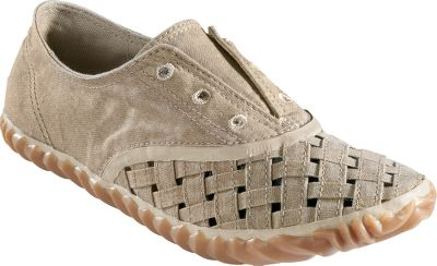 Inspired by beachwear from the 1800s, these Plimsole-style shoes mix classic elements of oxfords with Sorels unique rubber outsole pattern. The uppers and linings are made of washed canvas, and the unique basket-weave front section allows for added ventilation and style. Vulcanized rubber midsoles and molded polyurethane footbeds. Imported.Womens sizes: 6-10 medium width. Half sizes to 10.Colors: Firefly, Fossil, Mountain. Size: 6 1/2. Color: Mountain. Gender: Female. Age Group: Adult. Material: Canvas. Type: Slip-Ons. - $59.88