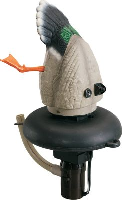 Hunting If you want your spread to mimic relaxed, feeding ducks this season, add a couple of Flyway Feeders. With an on/off-cycling water pump, the Mojo Flyway Feeder mimics the motion and ripples of a feeding duck. Its 12-volt rechargeable battery is mounted in the bottom of the decoy for stability and balance. Includes battery and battery charger. Unit is ready to hunt by just adding a decoy anchor and cord. - $99.99