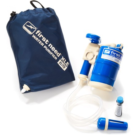 Camp and Hike The First Need XLE(TM) Elite water purifier delivers convenient chemical-free water purification for outdoor adventures and international travel. - $89.93