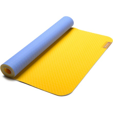 Fitness The Hugger Mugger Earth Elements yoga mat offers a cushioned, comfortable surface for your daily practice. - $26.93