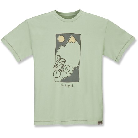 With an image that brings to mind the free-wheeling fun offered by the great outdoors, the Good Karma Organic T-shirt from Life is good(R) is an easy addition to your warm-weather wardrobe. - $11.73