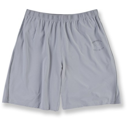 Fitness Ready to keep up with your active lifestyle, the Life is good(R) Good Moves Action shorts wick away sweat, dry quickly and offer lasting comfort whether you're working out or just hanging out. - $15.73