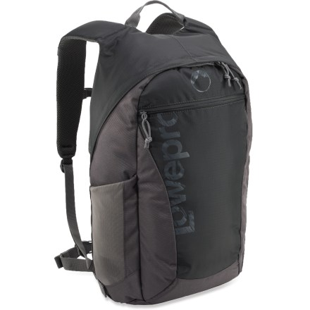 Entertainment The sleek Lowepro Photo Hatchback 22L AW camera pack offers a casual, yet high-performance design for carrying camera gear, a tablet and creature comforts on your outdoor excursions. - $24.93