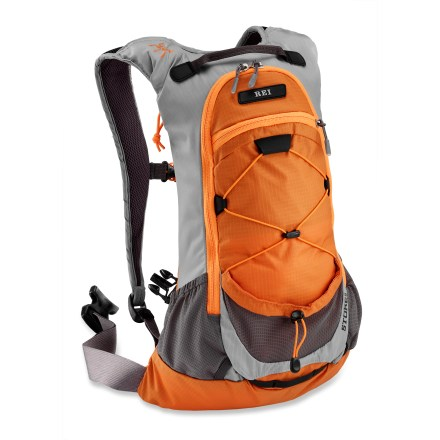 Camp and Hike The REI Stoke 9 pack is light and comfortable-enjoy your hike or run with this pack. - $29.73
