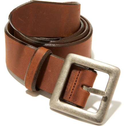 Whether you're dressing up or down, the REI Basic Leather belt adds subtle style to your wardrobe. - $16.83