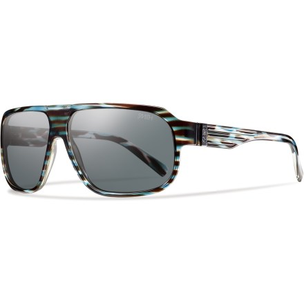 Camp and Hike Smith Gibson sunglasses give your eyes old school style with new school protection. - $80.00