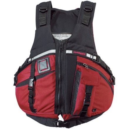 Kayak and Canoe The Stohlquist TowMOTION PFD accommodates a tow belt (sold separately) for those unexpected instances where a rescue is necessary. - $74.83