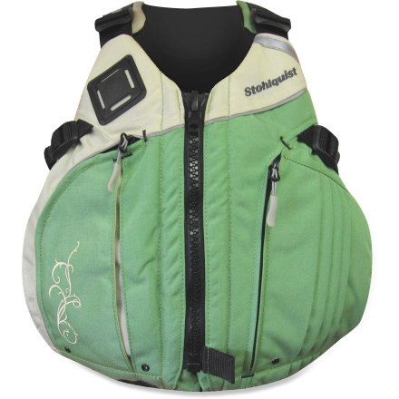 Kayak and Canoe The women-specific design of the Stohlquist BetSEA PFD fits comfortably and maximizes freedom of movement on the water. - $129.95