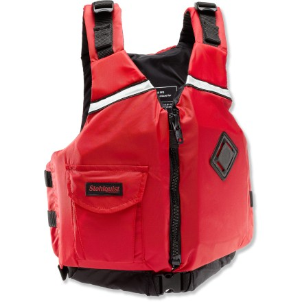 Kayak and Canoe Designed for kids weighing 50 - 90 lbs., the low-profile eSCAPE Youth PFD from Stohlquist offers your child essential safety and comfort. - $43.93