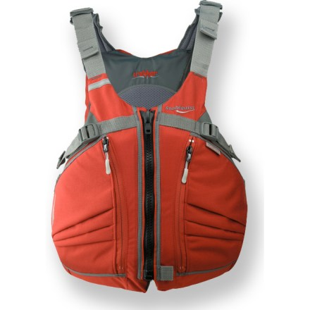 Kayak and Canoe The Stohlquist TREKKer PFD is designed to fit comfortably and without distraction while you paddle away your worries. - $119.95