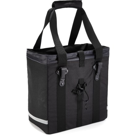 Fitness Say good-bye to heavy backpacks. The Sunlite Utili-T 1 Grocery Getter pannier takes the load off and makes it easy to run errands around town or carry gear while commuting. - $34.73