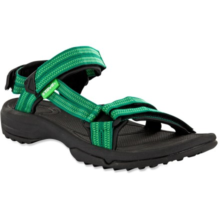 Camp and Hike Wherever feet wander, the women's Teva Terra Fi Lite sandals offer agile, flexible performance. - $41.83
