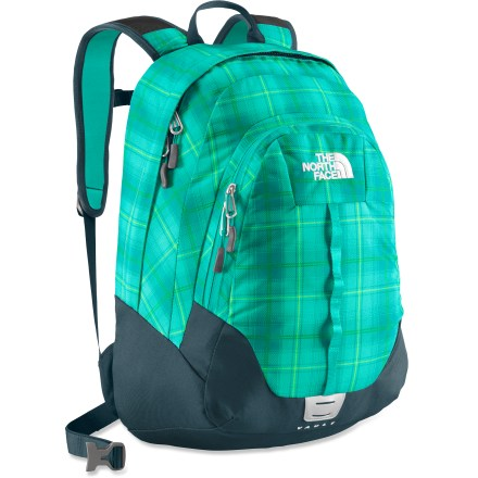 Camp and Hike The North Face Vault daypack lets you learn in the great outdoors or in the classroom with a classic, 2-compartment design and a comfortable harness for all-day hauling of gear or heavy books. - $43.93