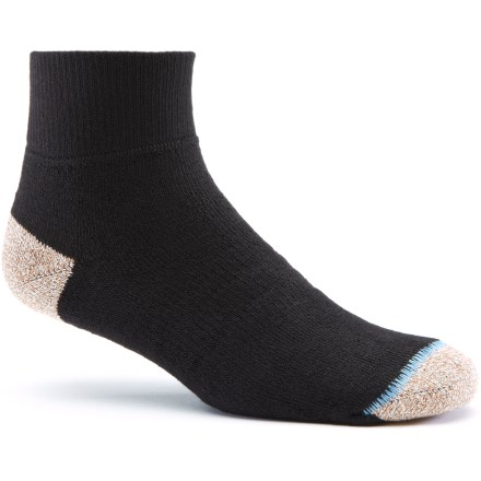 Fitness From the gym to the pavement, the WrightSock Cross Trainer Fitness socks in quarter height keep your feet happy as you amp up your training. CoolMax(R) wicks away moisture, dries quickly and breathes well, allowing you to enjoy the benefits of cool, dry feet. Fully padded foot features a stabilizing zone to reduce movement and support feet. Closeout. - $3.93