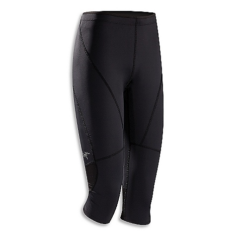 Free Shipping. Arcteryx Women's Cita 3-4 Tight DECENT FEATURES of the Arcteryx Women's Cita 3/4 Tight Quick dry, high power stretch fabric provides overall leg support Elastic waist with drawcord Zippered lower back security pocket features media port Strategically placed Flat locked seams reduce chafing We are not able to ship Arcteryx products outside the US because of that other thing. We are not able to ship Arcteryx products outside the US because of that other thing. We are not able to ship Arcteryx products outside the US because of that other thing. The SPECS Weight: M: 5.4 oz / 153 g Altavela - 74% polyester, 26% spandex Aeris - 88% polyester, 12% spandex (mesh) Fit: Next-to-skin This product can only be shipped within the United States. Please don't hate us. - $74.95