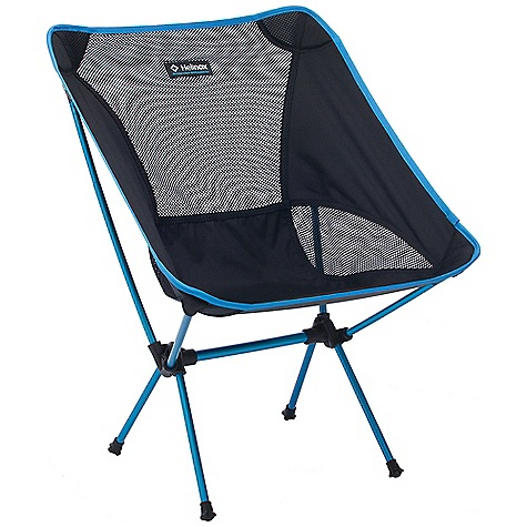 Camp and Hike Free Shipping. Helinox Chair One Camp Chair DECENT FEATURES of Helinox Chair One Camp Chair Same aluminum pole technology used by DAC in their Helinox trekking and tent poles Light, strong and comfortable Includes carrying case The SPECS Weight - 2lb/ 900g Packed Size - 14in. x 4in. x 5in./ 35 x 10 x 12 cm Assembled Dimensions - 26in. H x 21in. W x 20in. D/ 65 x 52 x 50 cm Seat Measurements - 13.5in./ 34cm from ground, 13.5in./ 34cm deep Load Capacity - 320lb/ 145kg - $89.95
