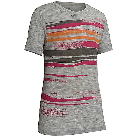 Icebreaker Girls' Tech T Lite SS Shoreline Top 5-14 Years DECENT FEATURES of the Icebreaker Girls' Tech T Lite Short Sleeve Shoreline Top 5-14 Years 150gm jersey / 100% merino UPF 50+ Set-in sleeves Regular fit Icebreaker pip label - $34.95