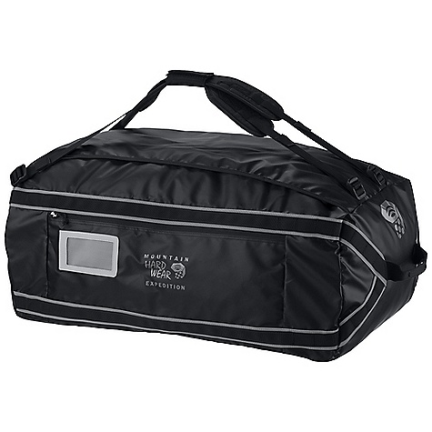 Entertainment Free Shipping. Mountain Hardwear Expedition Duffel DECENT FEATURES of the Mountain Hardwear Expedition Duffel Securely carry gear in three sizes, from carry-on friendly to jumbo expedition loads Very durable tarp throughout: heavy duty TPU on lined bottom and tough yet supple TPU on body Easy to use straps allow for hand, single shoulder and pack-style carry Easy access external zippered pocket and two internal mesh zippered pockets keep gear organized Internal compression keeps gear neatly packed while eliminating the struggle of zipping the duffel shut Lashing friendly daisy chains to safely transport gear to those far off places where only beasts of burden can travel The SPECS Body: HardWear Tarp 15 Accent: HardWear Tarp 15 Bottom: HardWear Tarp 25 The SPECS for Small Weight: 2 lbs 5 oz / 1.06 kg Capacity: 2750 cubic inches / 45 liter The SPECS for Medium Weight: 2 lbs 14 oz / 1.31 kg Capacity: 5500 cubic inches / 90 liter The SPECS for Large Weight: 3 lbs 10 oz / 1.65 kg Capacity: 8000 cubic inches / 131 liter - $124.95