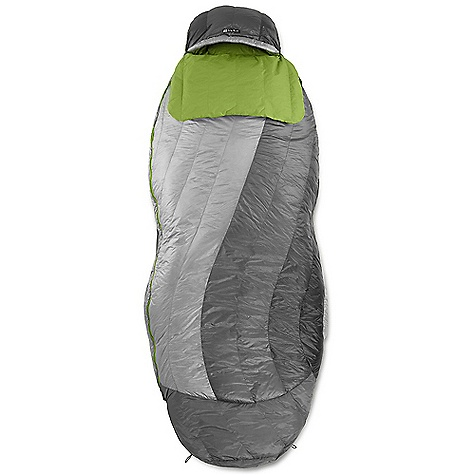 Camp and Hike Free Shipping. Nemo Nocturne 30 Sleeping Bag The SPECS Temperature Rating: 30deg F / -1deg C Fill: 700 Fill Power Down with DownTek Shoulder Girth: 58in. / 147 cm Hip Girth: 60in. / 152 cm Knee Girth: 68in. / 173 cm Packed Size: 13.5 x 8.5in. / 34 x 22 cm Shell: 15D Nylon with DWR Footbox: 15D W/B Nylon + DWR Lining: 30D Nylon Mini Ripstop Recommended Pad Width: 20in. / 51 cm Included Accessories: Compression stuff sack, cotton storage bag The SPECS for Regular Weight: 2 lbs / 907 g Fits Up To: 6' The SPECS for Long Weight: 2 lbs 2 oz / 964 g Fits Up To: 6' / 6in. OVERSIZE ITEM: We cannot ship this product by any expedited shipping method (3-Day, 2-Day or Next Day). Even if you pick that option, it will still go Ground Shipping. Sorry for being so mean. ALL CLIMBING SALES ARE FINAL. This product can only be shipped within the United States. Please don't hate us. Nemo products cannot be shipped to Japan. Please don't hate us. - $349.95