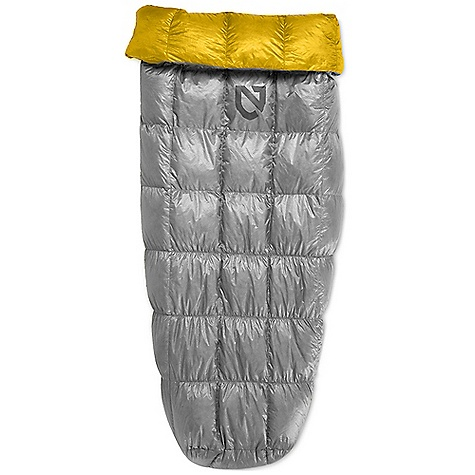Camp and Hike Free Shipping. Nemo Siren 30 Sleeping Bag DECENT FEATURES of the Nemo Siren 30 Sleeping Bag Stretch foot box anchors bag to sleeping pad and accommodates a variety of pad widths Optional lacing system on quilt back provides tie-down security Ultralight tie-down hardware is used at the edges for the optional lacing system Insert your pad in Siren, or snuggle on top The SPECS Temperature Rating: 30deg F / -1deg C Fill: 850 Fill Power Down Fits Up To: 6' Weight: 1 lb 2 oz / 510 g Shoulder Girth: 71in. / 180 cm Hip Girth: 67in. / 170 cm Knee Girth: 62in. / 157 cm Packed Size: 10 x 10in. / 25 x 25 cm Shell: 10D Nylon with DWR Lining: 10D Nylon Mini Ripstop + DWR Recommended Pad Width: 20 - 25in. / 51 - 64 cm Included Accessories: Compression stuff sack, cotton storage bag Nemo products cannot be shipped to Japan. Please don't hate us. - $349.95