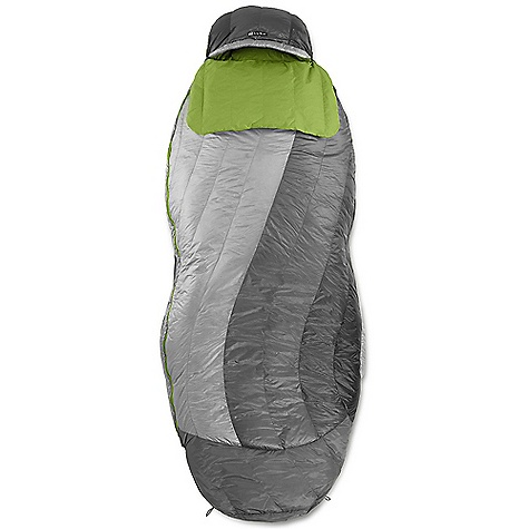 Camp and Hike Free Shipping. Nemo Nocturne 15 Sleeping Bag The SPECS Temperature Rating: 15deg F / -9deg C Fill: 700 Fill Power Down with DownTek Shoulder Girth: 58in. / 147 cm Hip Girth: 60in. / 152 cm Knee Girth: 68in. / 173 cm Packed Size: 14.5 x 9in. / 37 x 23 cm Shell: 15D Nylon with DWR Footbox: 15D W/B Nylon + DWR Lining: 30D Nylon Mini Ripstop Recommended Pad Width: 20in. / 51 cm Included Accessories: Compression stuff sack, cotton storage bag The SPECS for Regular Weight: 2 lbs 11 oz / 1.2 kg Fits Up To: 6' The SPECS for Long Weight: 3 lbs 3 oz / 1.5 kg Fits Up To: 6' / 6in. OVERSIZE ITEM: We cannot ship this product by any expedited shipping method (3-Day, 2-Day or Next Day). Even if you pick that option, it will still go Ground Shipping. Sorry for being so mean. ALL CLIMBING SALES ARE FINAL. This product can only be shipped within the United States. Please don't hate us. Nemo products cannot be shipped to Japan. Please don't hate us. - $399.95