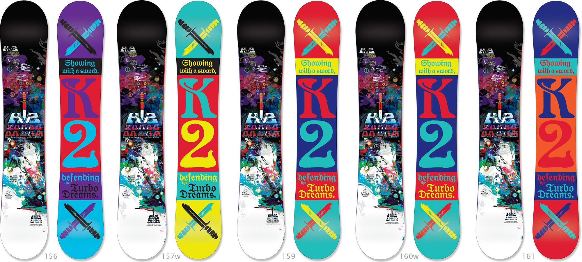 Snowboard K2 Turbo Dream Snowboard - 2012/2013