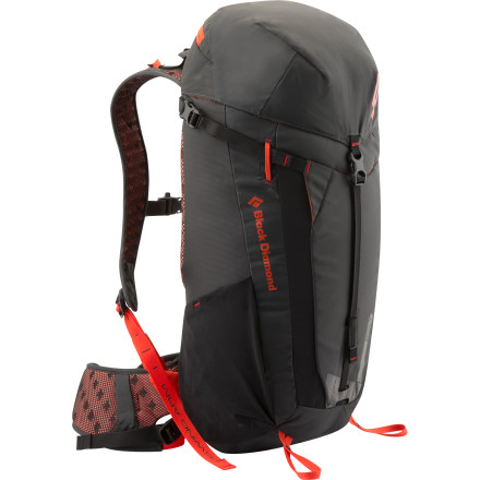 Climbing A hike through Death Canyon, a full day at the crag, or whatever;s adventure du jour'the Black Diamond Bolt Backpack will haul your gear in sleek, supportive style. The reActiv suspension system with OpenAir backpanel, shoulder straps, and waistbelt stabilizes your daily load on your hips in cool, dry comfort. Multiple pockets and attachment loops hold gear and gadgets in easy reach for convenient access. And although this pack makes hauling your things a relative breeze, bring plenty of hydration in its external-access sleeve, because you know you're going to charge hard. - $129.95